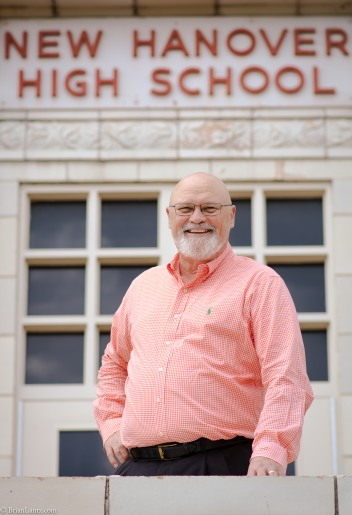 Week 12 of the 52 Portrait Challenge was an honor to shoot. Principal McAdams has done so much for New Hanover County Schools over the years. I am thankful to know him and thankful that he agreed to take part in my portrait challenge. 