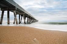A nice sunrise this morning at Johnnie Mercer's pier. #WrightsvilleBeachNC #WilmingtonNC #johnniemercerspier #NorthCarolina #LongExposure #longexpoelite #Sunrise #Pier #Landscape #Ocean #Salt #Sand #Sea #nikond7100 #nikon #rokinon14mm