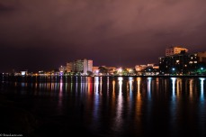 #wilmingtonnc #battleshippark #downtownILM #ILM #nightlife #nightphotography #light #CapeFearRiver #weownthenight_nc