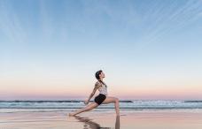 Beach Yoga with Addie